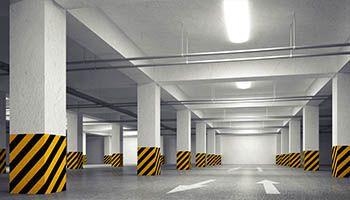 Podziemny garaż