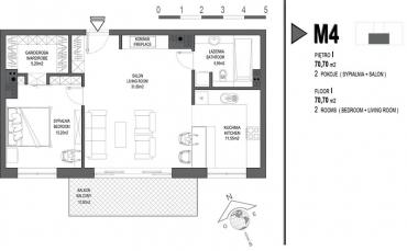 Mieszkanie nr. M4