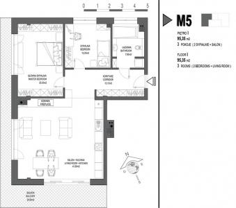 Mieszkanie nr. M5