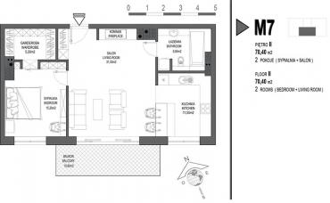 Mieszkanie nr. M7
