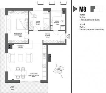 Mieszkanie nr. M8