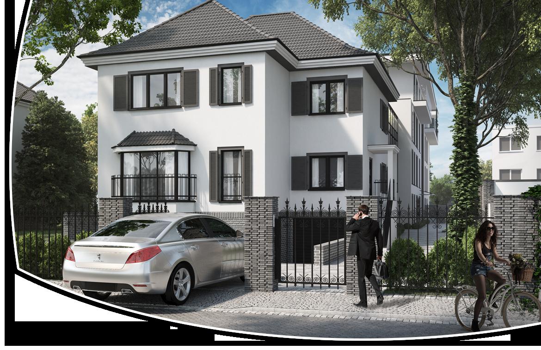 Rezydencja Dworek - nowe mieszkania i apartamenty Wrocław Oficerska 5